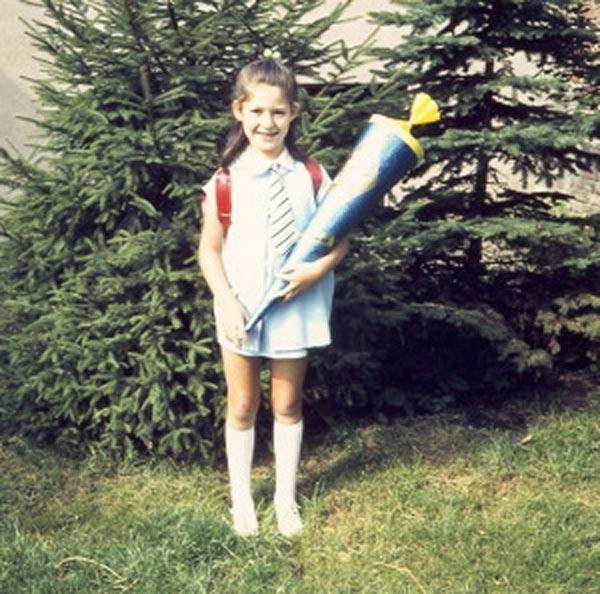 Astrid Grotelüschen Einschulung 1971